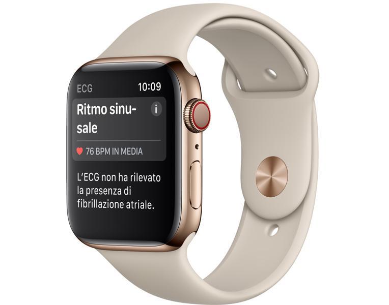 Sull'Apple Watch arriva l'elettrocardiogramma, anche in Italia: ecco come funziona