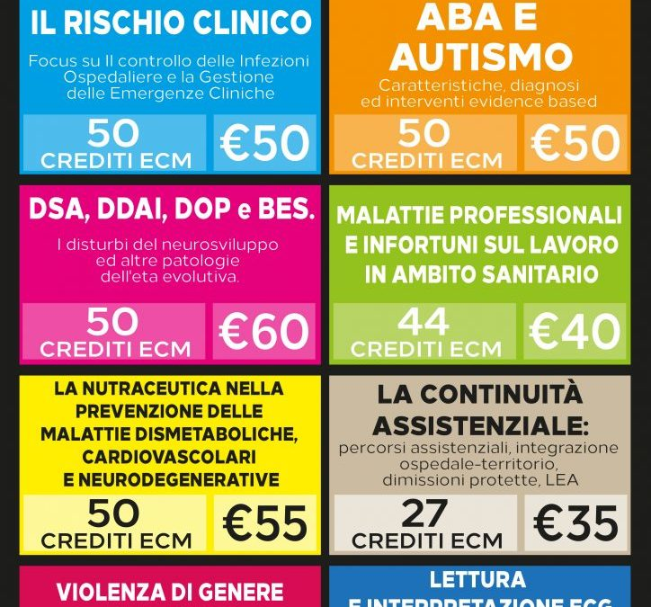 Corsi Fad Ecm per infermieri e tutte le professioni sanitarie con IDEAS Group
