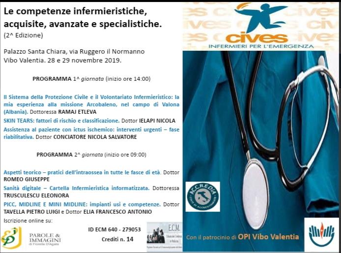 Gli infermieri del Cives in convegno a Vibo