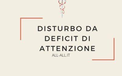 Disturbo da deficit di attenzione negli adulti
