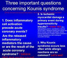 Sindrome allergica ed Infarto del Miocardio: la Sindrome di Kounis