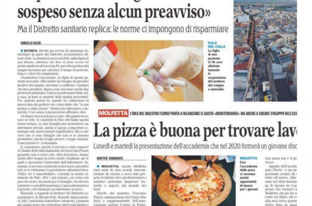 Bari, sospeso il servizio domiciliare infermieristico senza preavviso: la denuncia dei familiari e la solidarietà dell'Opi