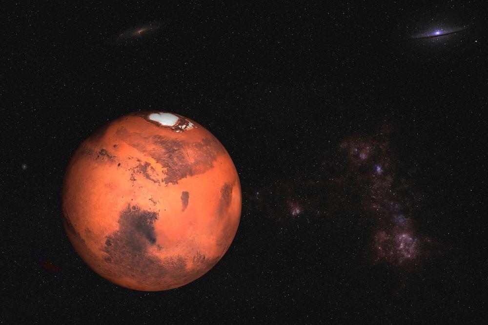 Marte: è il quarto pianeta dal Sole
