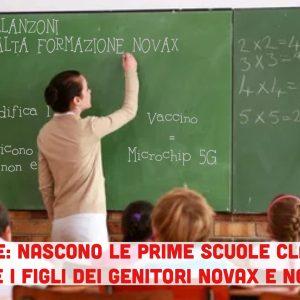 Alto Adige: nascono le scuole clandestine per i bambini con genitori NoVax