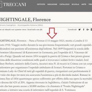 """FNOPI: """"Siamo riusciti a far correggere la data di nascita della Nightingale alla Treccani"""""""