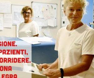 Dopo 42 anni in corsia senza un giorno di malattia va in pensione l'infermiera Rosangela Gatti