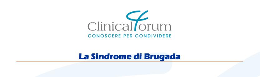 """Evento ECM gratuito per Infermieri e TFCPC su """"La Sindrome di Brugada"""""""