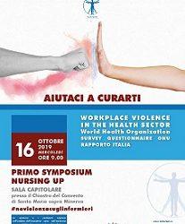 Ricerca Oms – Nursing Up: un infermiere su 10 ha subito violenza fisica e il 4% è stato minacciato con una pistola nell'ultimo anno