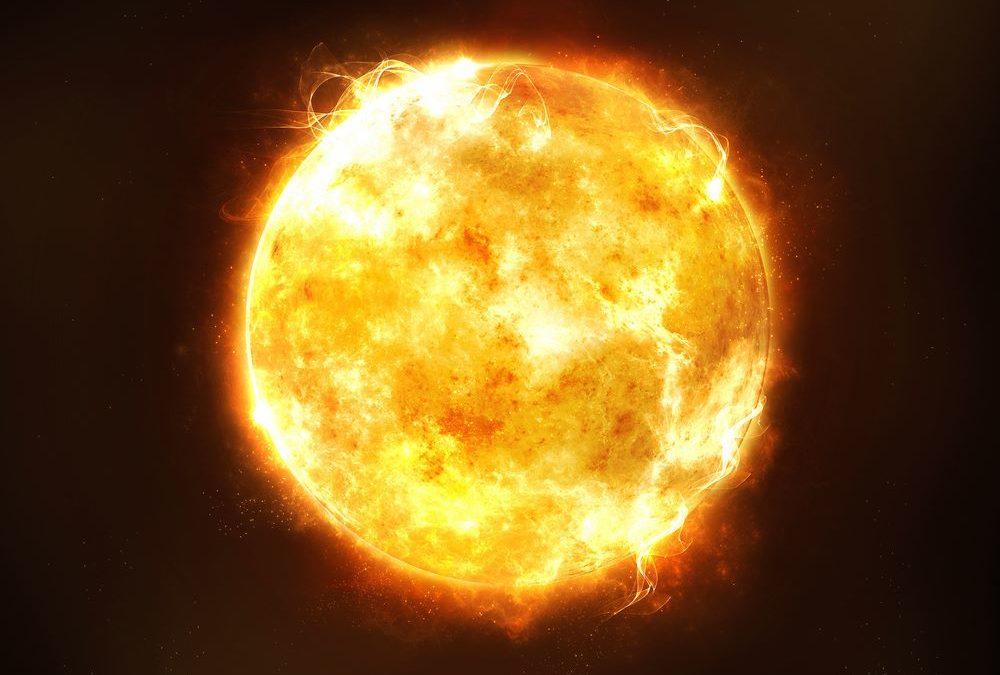 Sole: è di gran lunga l' oggetto più grande del sistema solare.